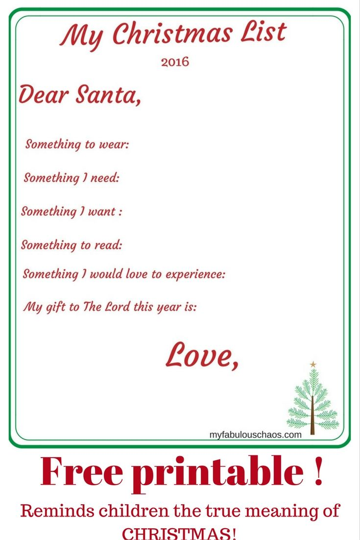 How to make letters to Santa special