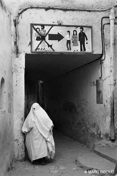 Pinterest : mutinelolita //// Algérie, 1974 by Marc Riboud
