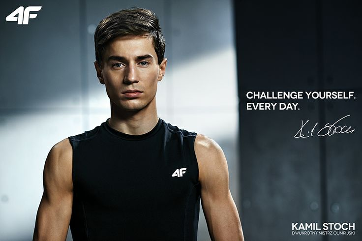 Make up & Hair by Aneta Kostrzewa - 4F campaign with Kamil Stoch