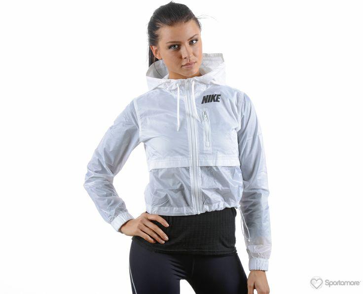 Nike - Transparent Jacket - Jackor - Vit - Dam | www.sportamore.se | Sportamore.se - Kläder Träning & Gym