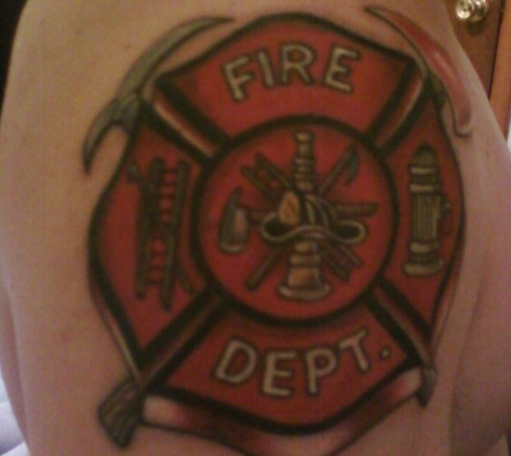 25 Best Ideas About Firefighter Tattoos On Pinterest
