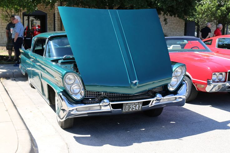 1958 Lincoln Continental III. As shown at the May 2014 Leander Car Show in Leander TX USA.