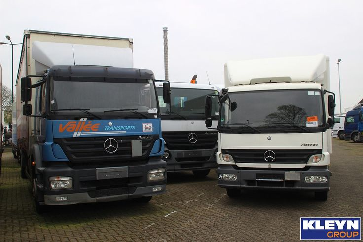 MP2 parade. ;-) What is your favorite, Axor, Actros or Atego?