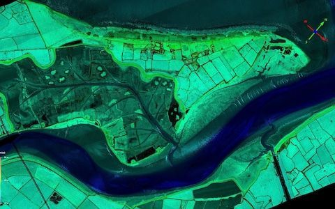 Lost Roman roads could be found as Environment Agency laser scans whole of England from air www.telegraph.co.uk for the latest news from the UK and around the world.  Lost Roman roads could be found using the Lidar dataCREDIT:ENVIRONMENT AGENCY  Sarah Knaptonscience editor  30 DECEMBER 2017  12:01AM  Lost Roman roads and hidden archaeological remains are likely to be uncovered in a new project to map the entire English landscape using state-of-the-art lasers.  Under plans unveiled by