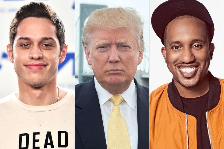 <em>SNL</em>'s Pete Davidson and Chris Redd Rewrote Drake's Song 'God's Plan' to Mock Donald Trump