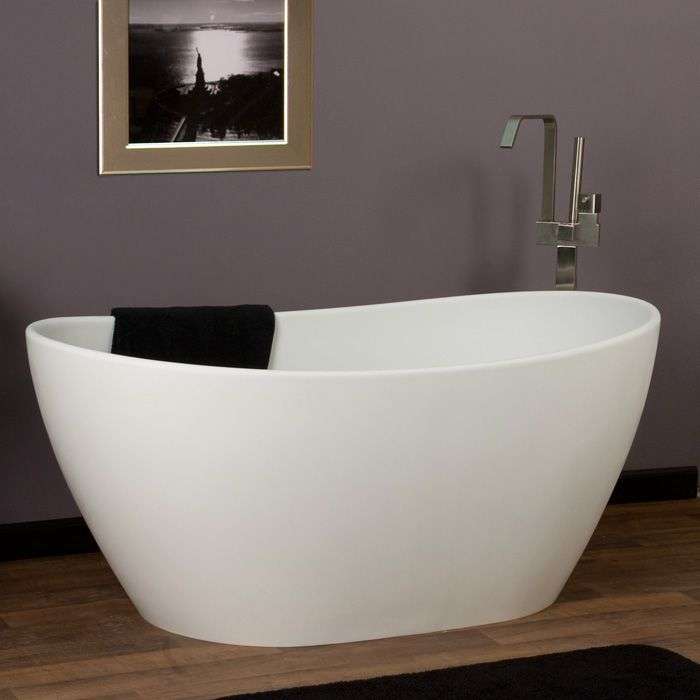 Winifred Resin Freestanding Tub 22 best Tubs images on Pinterest  Bathroom ideas Bathtubs and