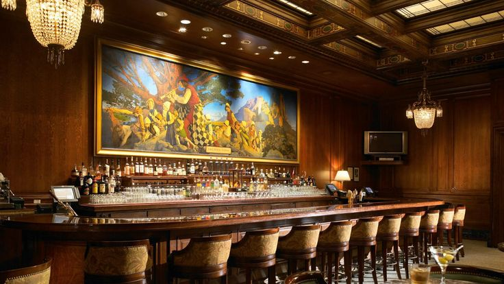 The Palace Hotel, San Francisco - Pied Piper Bar