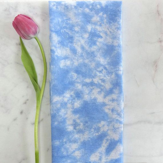 Sky Blue Tea Towel  Cakewalk Colors Collection  by CakewalkLinens