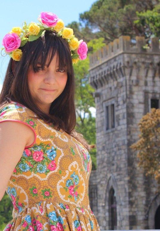A fairy Dress.... New article on  the blog: http://ateliervicolon6.jimdo.com/2015/05/24/un-abito-da-favola/