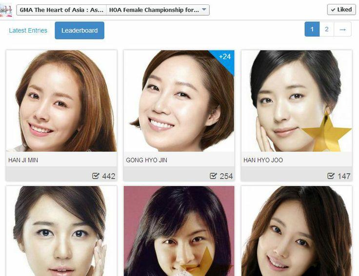 So Ji Sub's women.;)