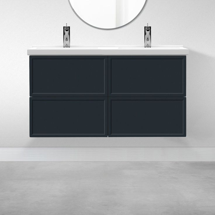 4 Drawers 47 1 For Morgon In, Replacement Drawers For Bathroom Vanity