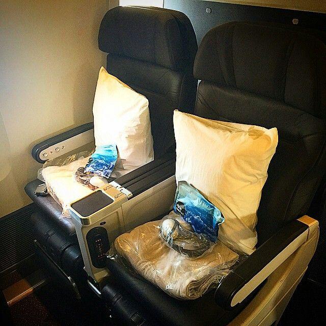 Air New Zealand B777-200 Premium Economy seats @jethropun