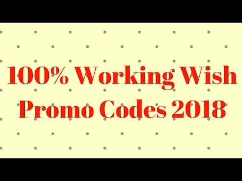 Wish Promo Codes for Existing Customers 2018- Wish Com Free