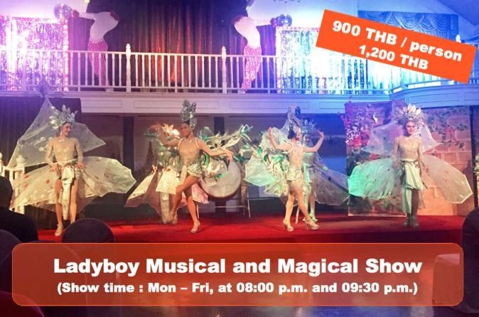 Ladyboy Musical and Magical show in Bangkok  #PrivateTours #CityTours #Thingstodo #Activities #Tours #Bangkok #Magical #Show