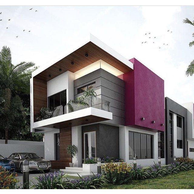 Modern Home Facade Design of the Day -- #TagAFriend -- Follow @6ixhomes