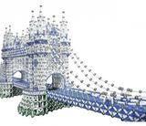 UZAY ÇAĞI BULUŞU MANYETİK LEGO 84 PARÇA