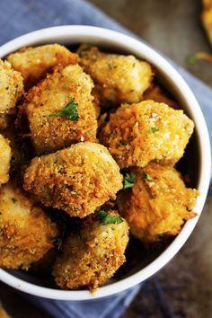 Garlic Parmesan Cheddar Chicken Bites | The Recipe Critic