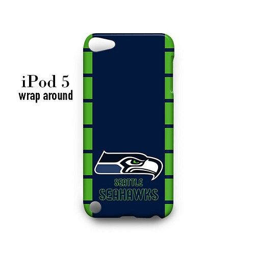 Seattle Seahawks Case for iPod Touch 5 5g 5th