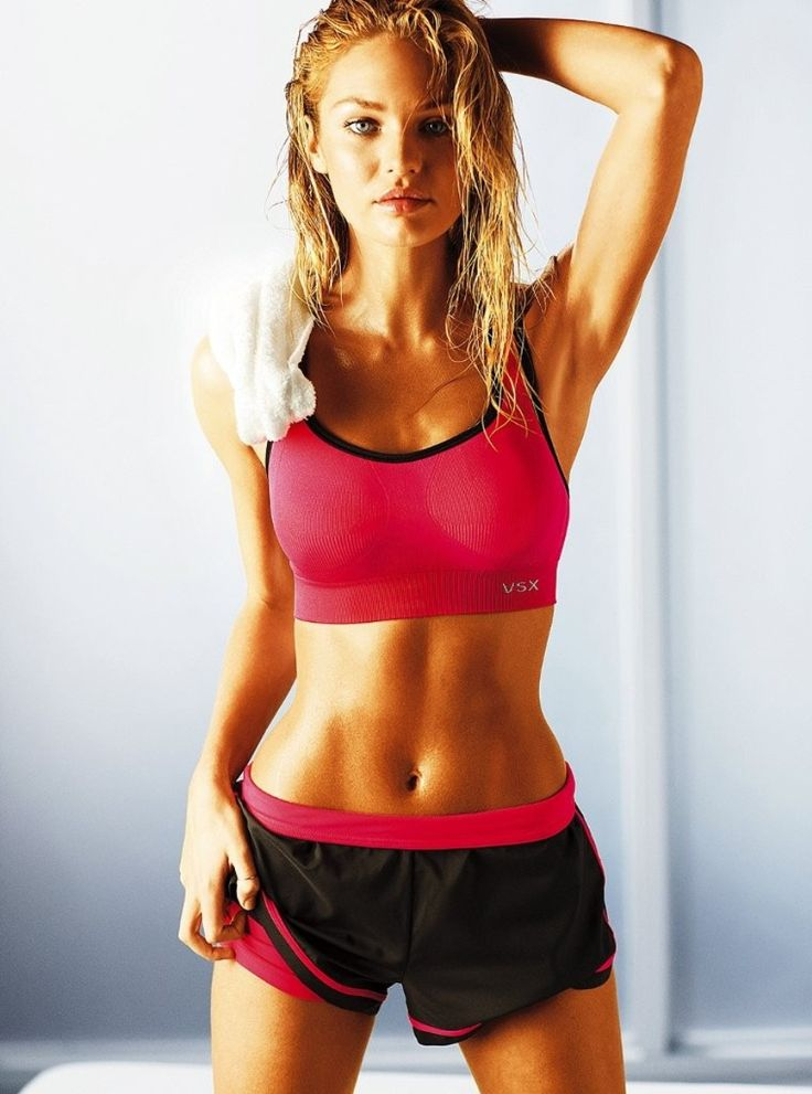 Victoria's Secret Model Workout: 10-Minute ~ I just did this and I don't think I have ever sweated this much.