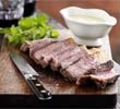 Steak with Béarnaise sauce  By John Torode