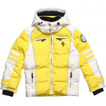 Yellow Down Padded Jacket