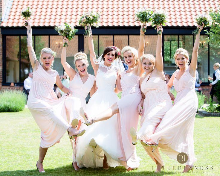 Love this shoot with the bridesmaids! #thegranarybarns #thegranaryestates