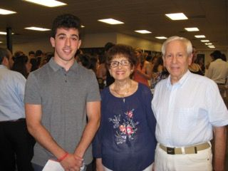 """Fran and Bill Monti, co-chairmen of the Westchester Walk to Defeat ALS, present a scholarship check to Zeke Rogen, a 2016 graduate of John Jay High School in Cross River, NY. """"The scholarship is given to a person who expressed a desire to enter the medical profession or who has faced the challenges of a … Continue reading Westchester Walk to Defeat ALS Co-Chairs Present Student With Scholarship Award →"""