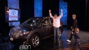 Ellen DeGeneres giving away free cars to needy families