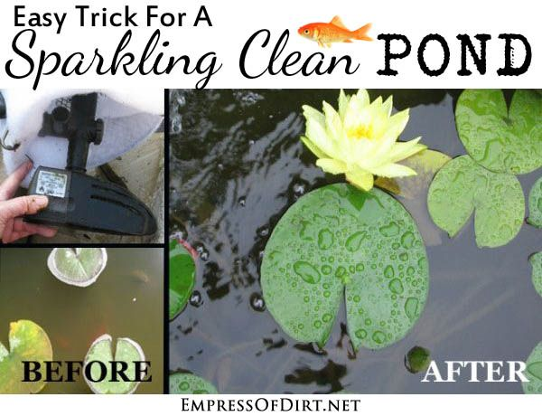 how to make a pond filter out of a bucket
