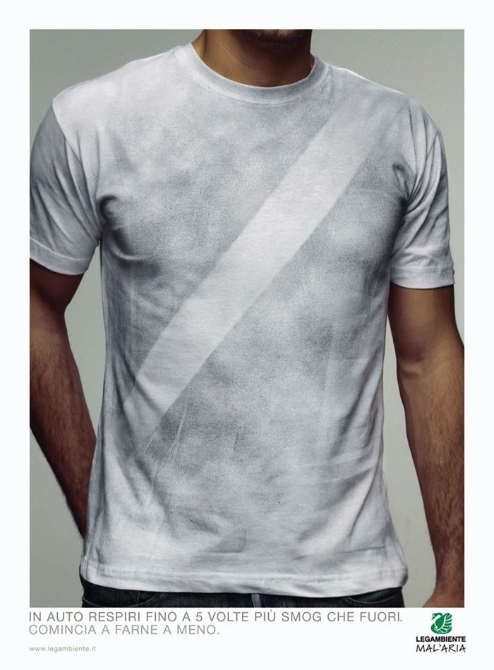 I Believe in Advertising | ONLY SELECTED ADVERTISING | Advertising Blog & Community » Legambiente: Smog