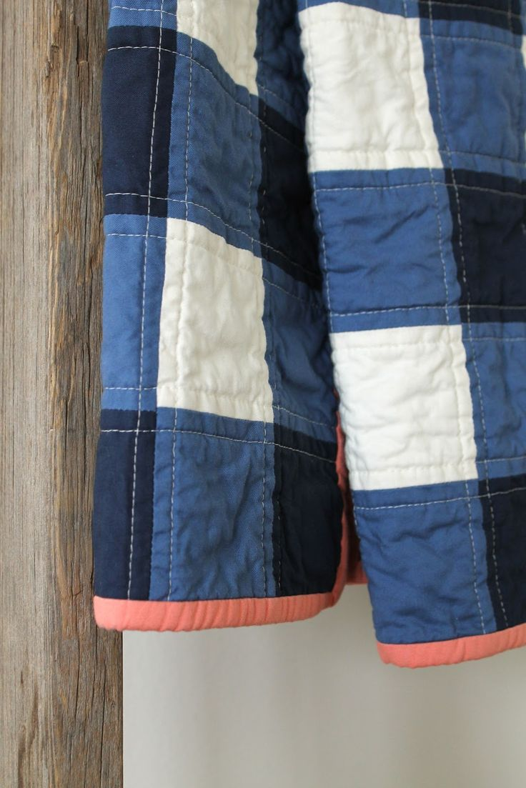 A custom quilt.         Perfectly imperfect, in every way.         In which, tradition met modern on the East coast for an afternoon t...