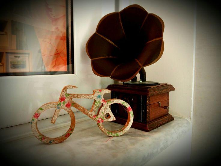 Decoupage bicycle