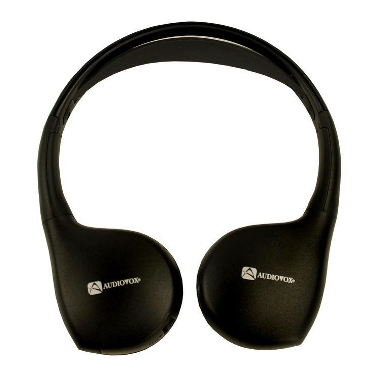 Audiovox IR1CFF Fold-Flat Wireless Infrared Headphones IR1CFFA,    #Audiovox Headphones