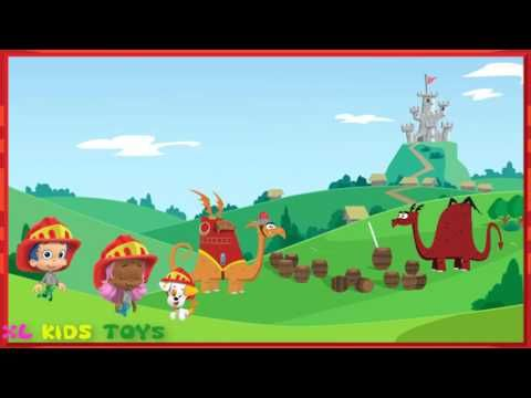 Paw patrol ♥ bubble guppies firefighter knights to the rescue ♥ kids gam...