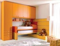 Armoire pont de lit pour chambre d 39 enfant mixte 936 for Armoire chambre d enfant