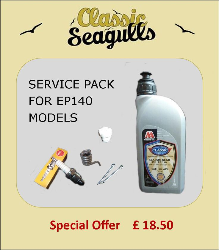 Service pack for British Seagull EP140 Models
