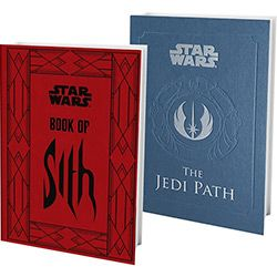 Kit Livros - Star Wars The Book of Sith: Secrets From The Dark Side + The Jedi Path