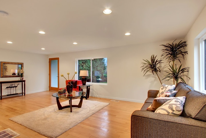 great space in this remodeled home in Seattle area