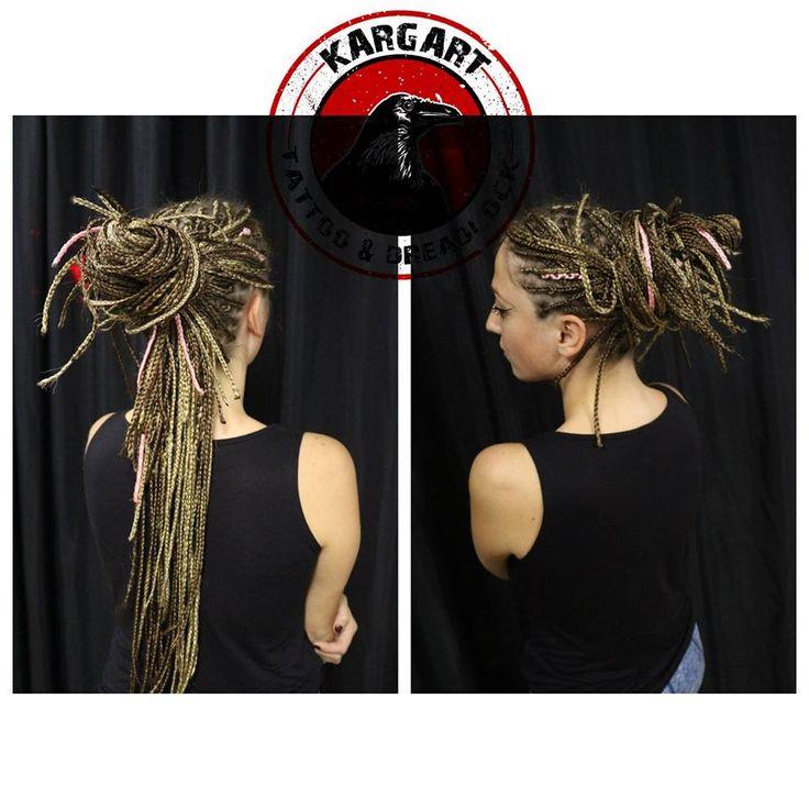 Zenci örgüsü / Twist / Afrika örgüsü /Box braids
