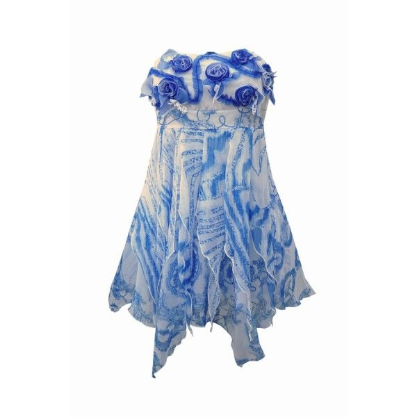 Strapless Rose Dress Van Juju & Christine