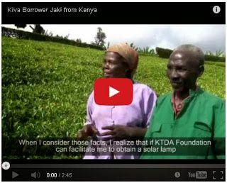 Osvětlení domácností pěstitelů čaje