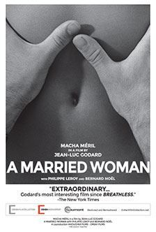 Godard's A MARRIED WOMAN starts Friday at the Nuart Theatre in West #LosAngeles