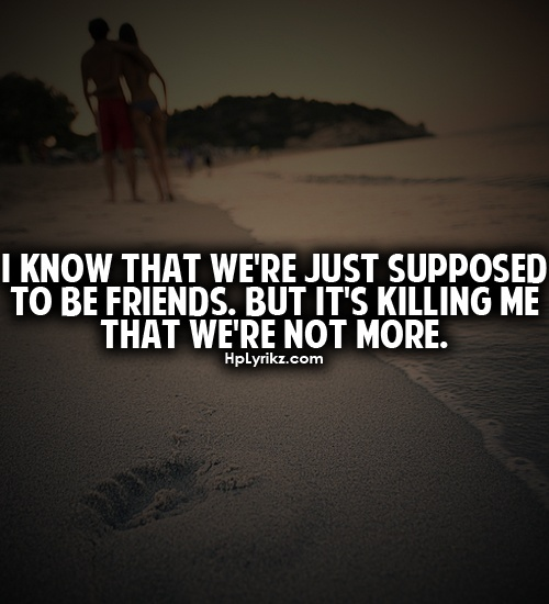 We Re Not Friends Quotes: Best 25+ Just Friends Quotes Ideas Only On Pinterest