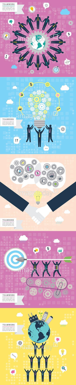 일러스트 #이미지투데이 #imagetoday #클립아트코리아 #clipartkorea #통로이미지 #tongroimages 리본 비즈니스 아이콘 팀워크 플랫디자인 화합 아이디어 전구 컨셉 파티클 악수 말풍선 컨셉 ribbon business icon teamwork flatdesign harmony idea bulb concept particle hand shaking concept balloon illust illustration