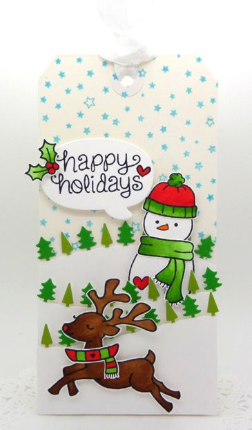 In My Creative Opinion: 25 Days of Christmas Tags - Day 25!!!