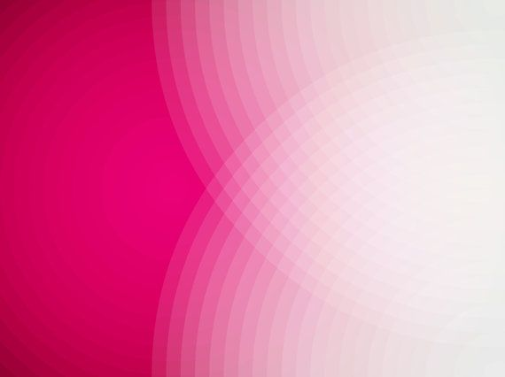 Pink Echo Spot Abstract Wall Art Print.