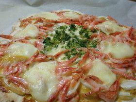 桜海老とモッツァレラの和風ピザ by *ゆぅ* [クックパッド] 簡単おいしいみんなのレシピが246万品
