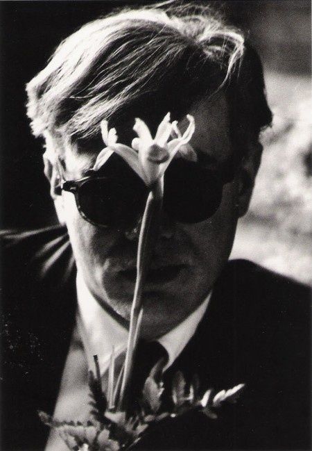 Andy Warhol with flower © Dennis Hopper: Andy Photographers, Faces, Favourit Photo, Andywarhol, Photography 1961 67, Andy Warhol, Photography B W, Flowers Dennis, Dennis Hopper