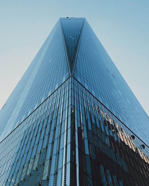 建物, 超高層ビル, タワー, ガラス, 都市, オフィス, 近代的な, アーキテクチャ, 高, 青, 空