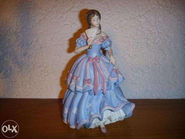 Porcelanowa figurka Wedgwood,biskwit,sygnowana,Anglia,limitowana edycj Racibórz - image 1